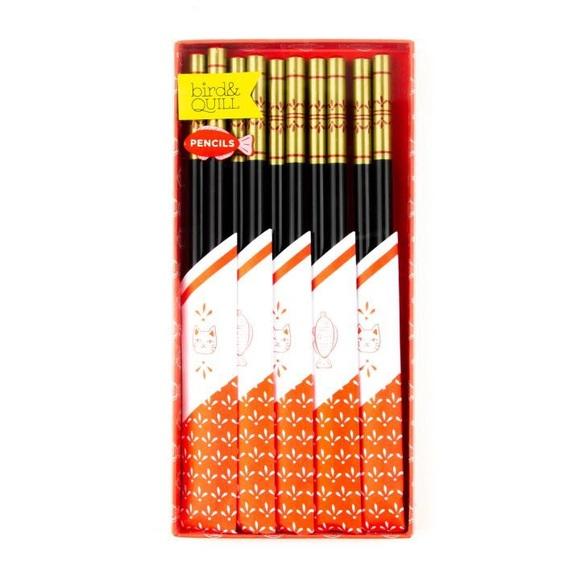 Papyrus Other - Papyrus Bird & Quill Chopstick Pencils (Set of 10)